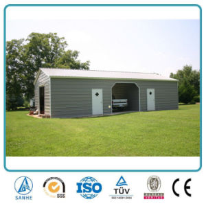 China Portable Vehicle Shelter Prefab Gable Roof Carport Garage