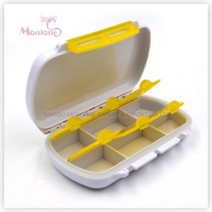China 6 Grids Pill Box Plastic Pill Box Pill Container China