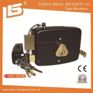 Security High Quality Door Rim Lock (540.12-Z) pictures & photos