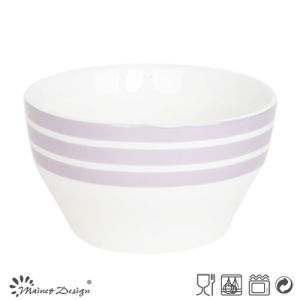 13cm Ceramic Bowl with Simple Decal Design pictures & photos
