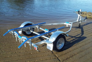 Hot Galvanizing Boat Trailer Cbt-J42