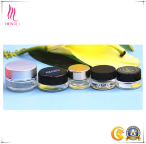 High-Quality 8ml Frosted Glass Facial Mask Jar with Lid pictures & photos