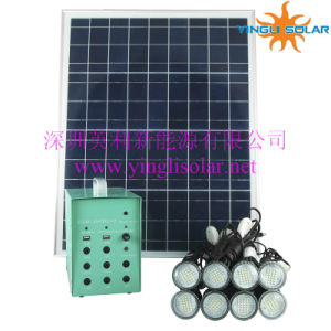 2015 Hot Sale 8 PCS LED Lamp Solar Lighting Kits (SZYL-SLK-6040) pictures & photos