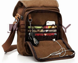 Durable Multifunction Canvas Shoulder Bag Business Messenger Bag iPad Bag  Tote Bag Satchel Bag for Men and Women b4a0a63c05001