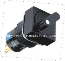 Mini Relctangle Turn Button Switch pictures & photos