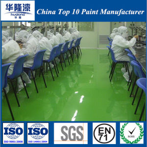 Hualong Antistatic Epoxy Floor Paint/Static Free Epoxy Floor Coating pictures & photos