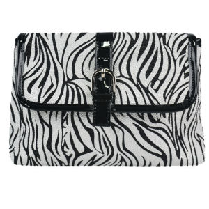 Waterproof Zebra PU Evening Bag for Make up pictures & photos
