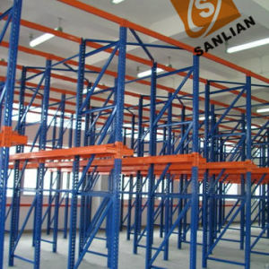 Through Pallet Style Long Span Heavy Duty Shelf Storage Rack pictures & photos