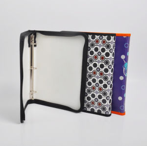 china office and school stationery plastic opaque 3 o ring binder
