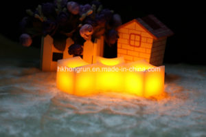 Square Shape Wax Candle Set (HR02S)