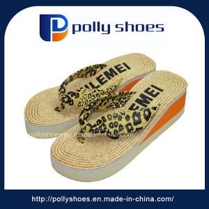 3aa562b39 China Women High Heel Slipper Wholesale Fabric Strap Flip Flop ...