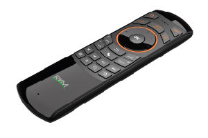 Rkm Mk705 Sensor Remote Fly Air Mouse+Wireless Mouse + IR Remote Control (MK705)