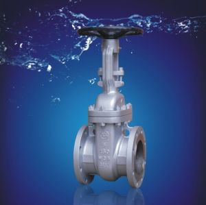 ANSI Cast Steel Gate Valve pictures & photos