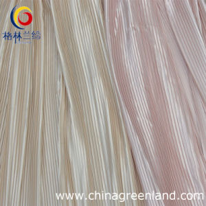 100%Polyester Pleated Dying Fabric for Dress Garment Textile (GLLML045) pictures & photos