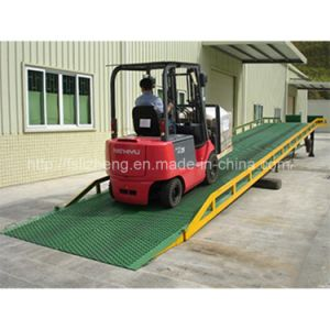 Mechanical Adjustable Forklift Container Yard Ramps (LZ-YDQ)