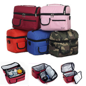Outdoor Pinic Lunch Box Multifunction Shoulder Cooler Bag pictures & photos