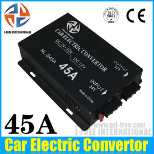 Car Power Converter 24V to 12V Power Supply Converter with Factory (DC-45A)