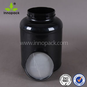 3liter Round Pet Plastic Protein Powder Container Plastic Bottle pictures & photos
