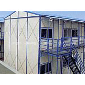 Fast Construct Low Cast Steel Frame Sandwich Panel Prefab House pictures & photos