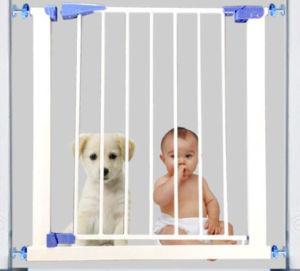 China Baby Safety Gate Self Closing Door Pet Gate Walk Through Gate
