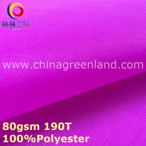 100%Polyester Taffeta Plain Fabric for Garment Pocket (GLLML299) pictures & photos