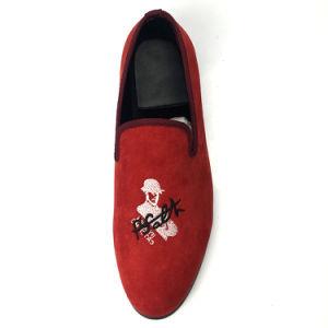 Custom Velvet Shoes