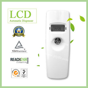 LCD Time Display Automatic Air Freshener Aerosol Dispenser pictures & photos