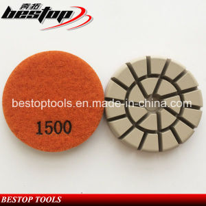 D80mm Concrete Floor Diamond Polishing Pads pictures & photos
