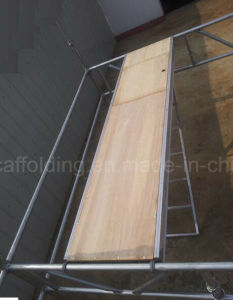 Aluminum Plywood Hatch Plank with Aluminum Ladder for Scaffolding