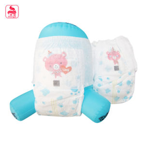 Cheap Item Printed Flexible Leakage Proof Teddy Baby Baby Diaper pictures & photos