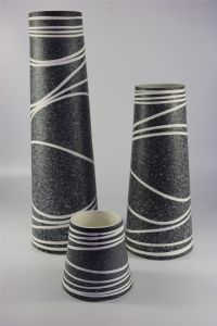 High Quality Popular Hand Carved Pattern Ceramic Vase