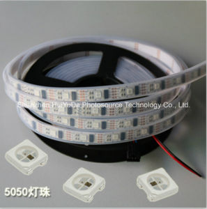 RGB IP68 Full Color SMD5050 Chip 30LEDs 9W DC24V LED Strip pictures & photos