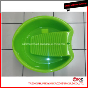 Plastic Injection Clothes Washing Basin Mould in China