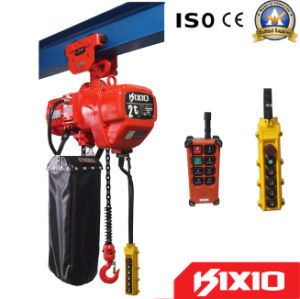 1~3 Phase 0.5 Ton 3~130m Lifting Height Electric Chain Hoist pictures & photos