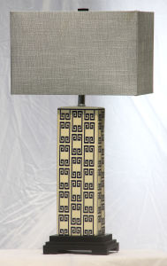 Ceramic Table Lamp with UL Certificate pictures & photos
