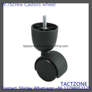 High Quality Wholesale 2 Inch Office Chair Screw Type Caster Wheels pictures & photos