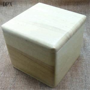 Storage Box Custom Square Wood Gift