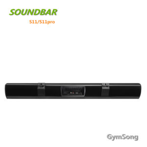 Gymsong Professional Bluetooth Mini Speaker Soundbar for Home