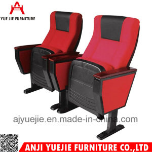 Fabric Material Aluminum Base Auditorium Chair Yj1011