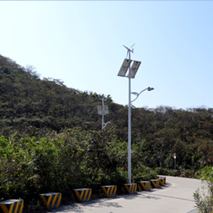 Wind Solar Light System 50W LED Renewable Energy Power System