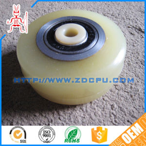 Custom Low Price Eco-Friendly Nylon Pulley Wheels pictures & photos