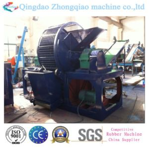 Hot Sale Whole Tyre Shredder Machine Rubber Shredder Machine