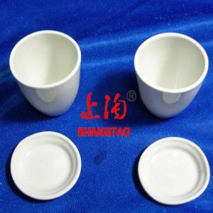 Lab Porcelain Crucibles with Covers or Lids pictures & photos