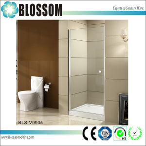 Modern Design Tempered Glass Shower Cabin Pivot Shower Enclosure pictures & photos