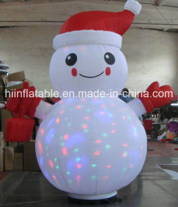2015 High Quality and Top Grade Inflatable Christmas Snow Man for Kids