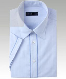 Cotton Mens Short Sleeve Shirt (pH-T03) pictures & photos