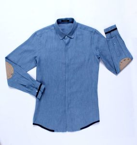 Cotton Men′s Shirt Bs5025, Good Quality, Factory Price pictures & photos