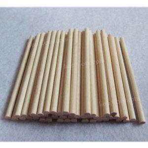 Custom Wood Stick Round Lollipop Popsicle Sticks Wooden Ice Cream Kids DIY Crafts