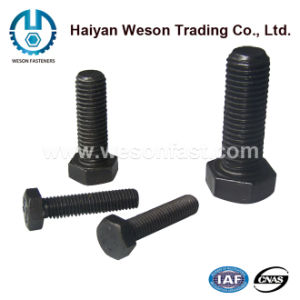 Carbon Steel Zinc Plated Bolts, Hex Bolts, Hex Head Bolts pictures & photos