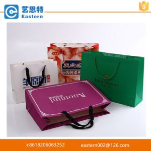 Xiamen Manufacture Kraft Paper Carrier Bags